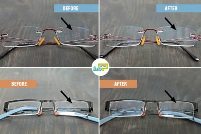 feat how to clean scratches on glasses