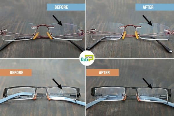 intro how to clean scratches on glasses