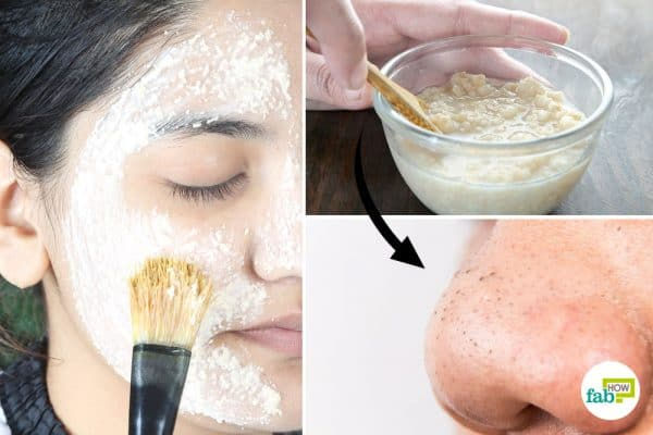 intro how to make oatmeal face mask for blackheads
