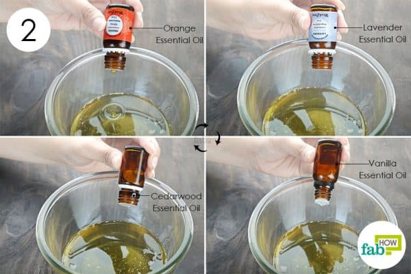 add essential oils to make DIY Beard oil