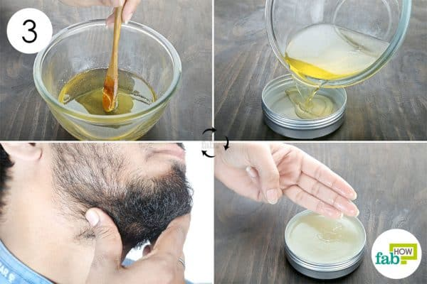 Mix well and store to make DIY beard oil