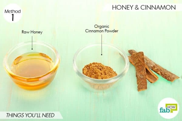 things you'll need to use cinnamon and honey for acne