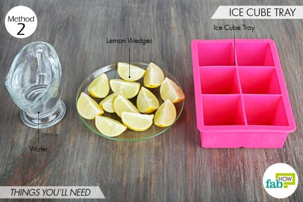 things needed to store lemons