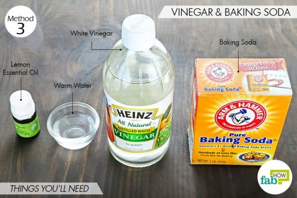 Things you'll need to make fabric softener with baking soda