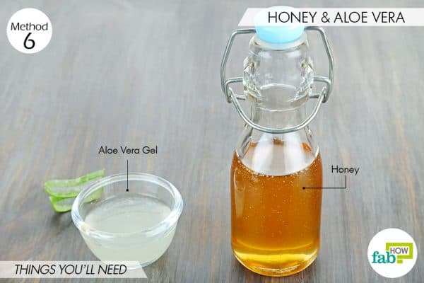 things you'll need to use aloe vera and honey for acne
