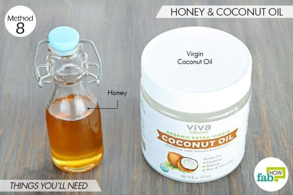 things you'll need to use coconut oil and honey for acne