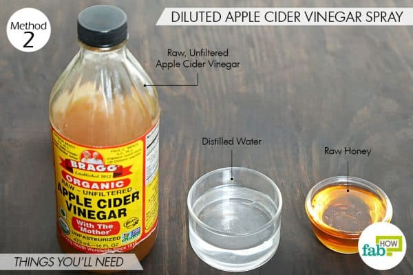 things you'll need to use acv for dandruff