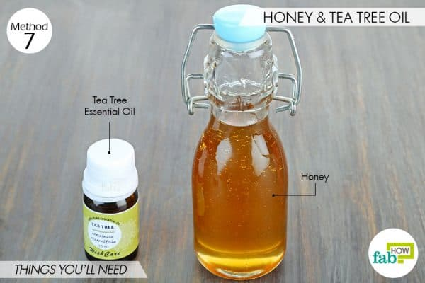 things you'll need to use tea tree oil and honey for acne