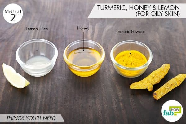 things you'll need to use turmeric for dark spots on oily skin