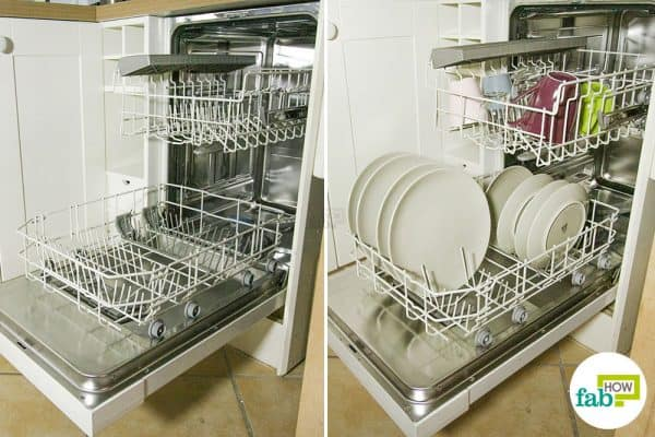 final to clean a dishwasher