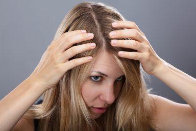 dry flaky scalp