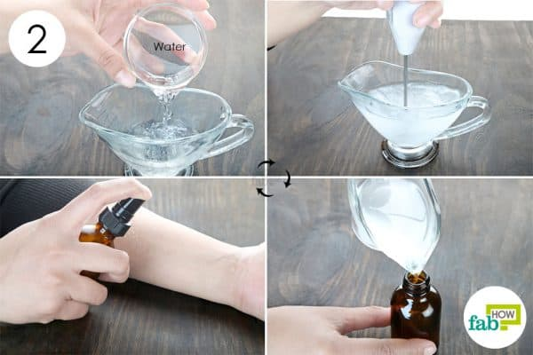 dilute with water to make diy homemade anti itch spray and cream