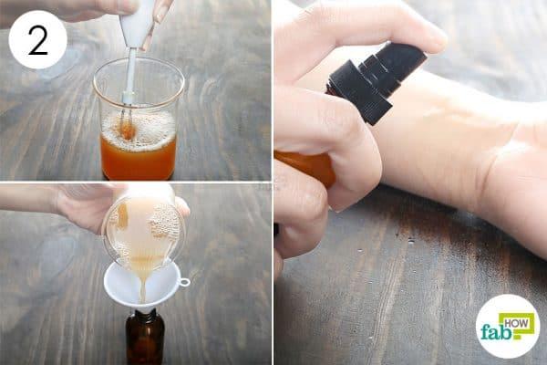whisk store to make diy bug spray for skin