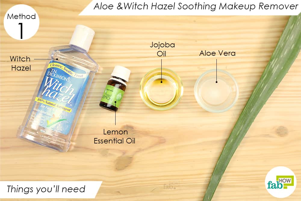 Diy Homemade Makeup Remover Recipes