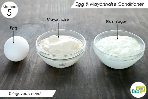 things need to make diy homemade hair conditioner