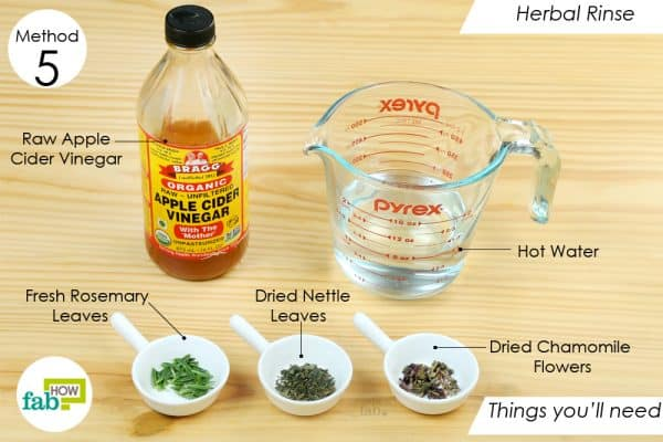 things youll need home remedies dry flaky scalp