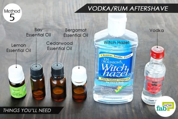 things you ll need to make diy homemade aftershave spray