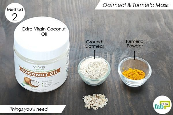 things youll need to make oatmeal face mask for acne