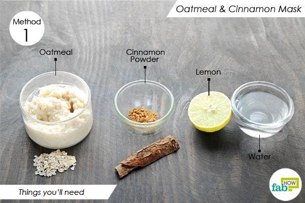Oatmeal Face Masks to Get Rid of Acne