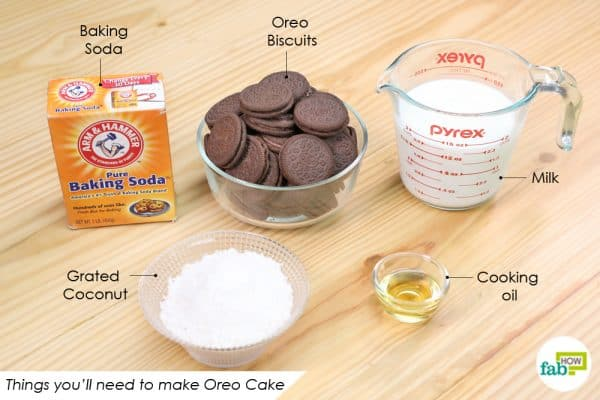 things youll need to make oreo cake recipe