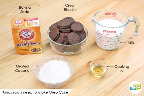 things youll need to make oreo cake recipe