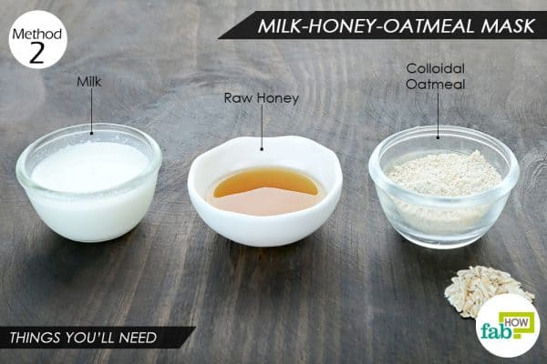 things you ll need to make oatmeal face mask for rashes and allergies
