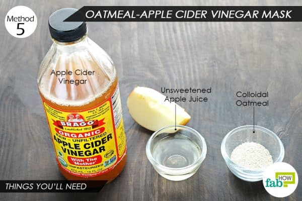 things youll need to make oatmeal face mask for rashes and allergies