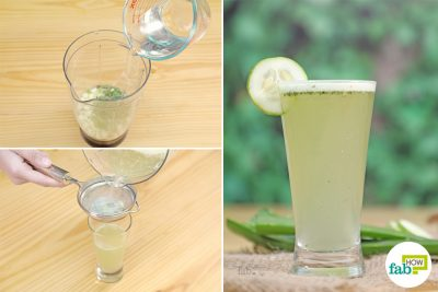 5 min aloe vera water recipe to detoxify your body
