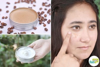 diy homemade under eye cream for wrinkles and dark circles