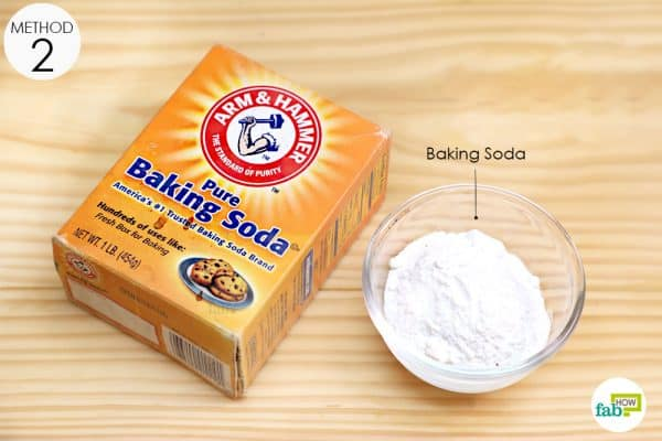 add baking soda to your bath water