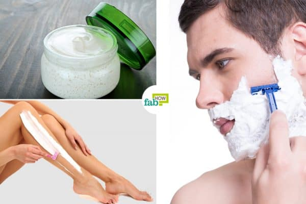 diy homemade shaving cream