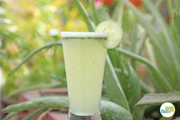 drink the 5 min aloe vera water recipe to detoxify your body