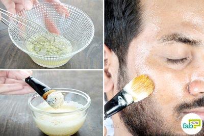 homemade face masks for men