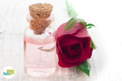 how to use rose water for hair