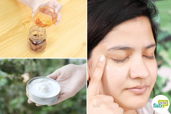 diy under eye cream for puffy and tired eyes