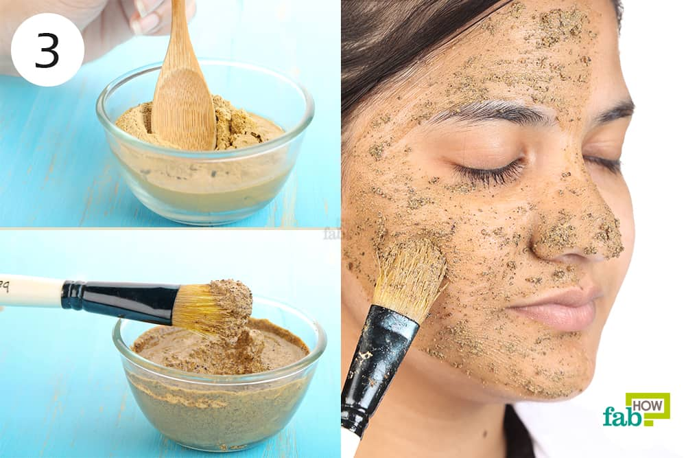 how to make homemade clay mask