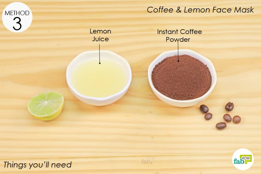 coffee face mask for acne prone skin