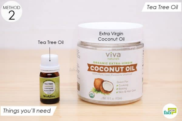 Things you'll need to make tea tree oil application