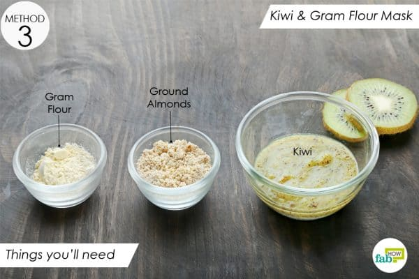 things you'll need to make 6 diy kiwi face masks to lighten and brighten your skin
