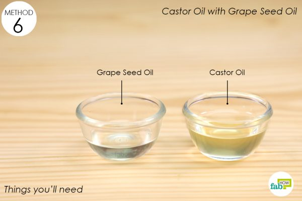 things you'll need to make grapeseed oil and jojoba oil makeup remover