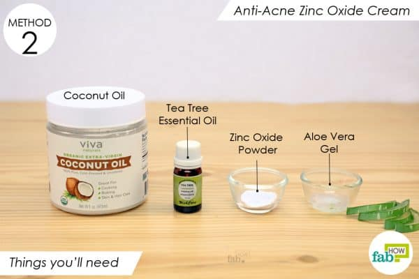 things youll need to make diy homemade anti acne cream gel