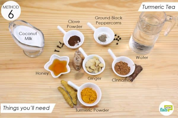 things you'll need to make turmeric tea