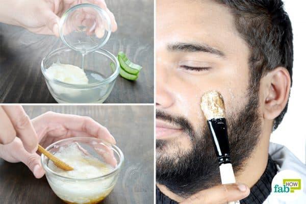 to make homemade face mask for men