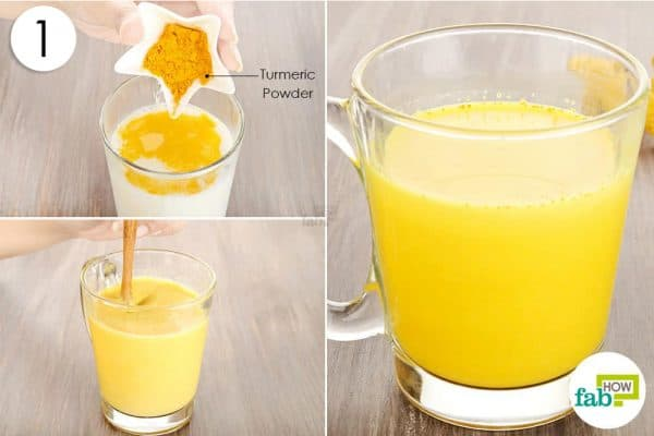 add turmeric to milk