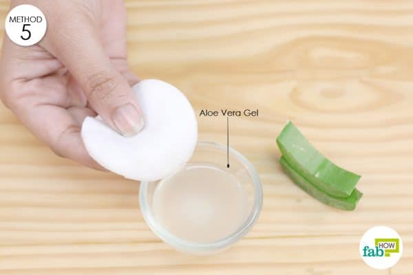 aloe vera for armpit rash