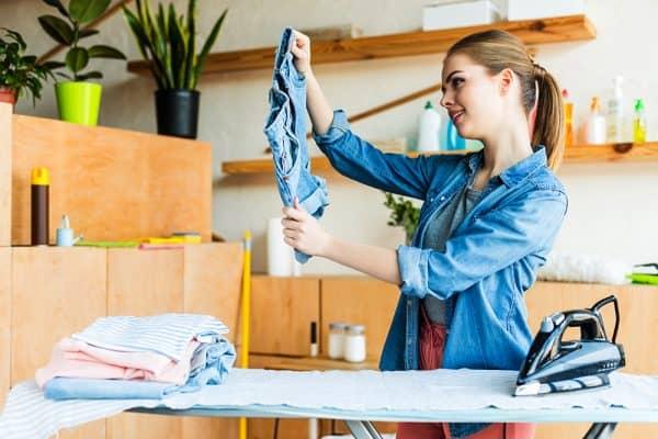 iron free clothes