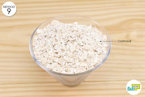 oatmeal for armpit rash