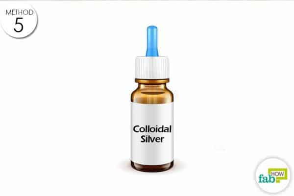 spray colloidal silver on your pet's open wound few times a day