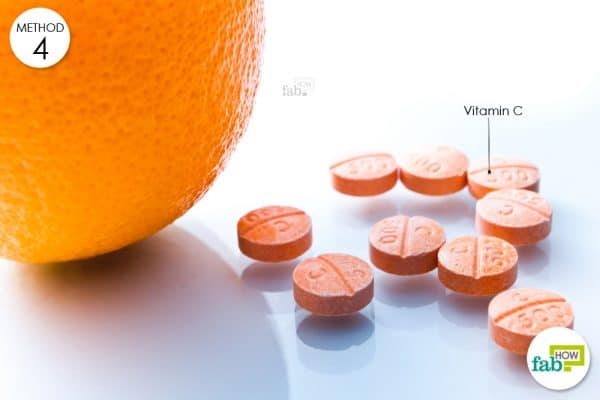 consume vitamin C tablets
