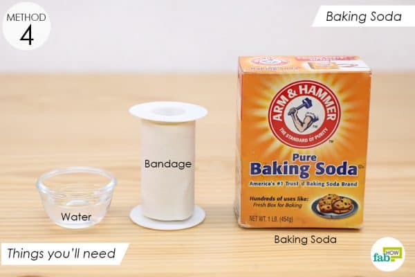 things you'll need to remove splinters using baking soda